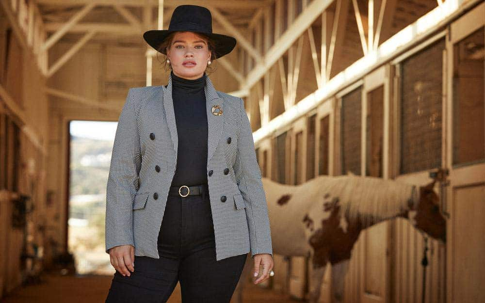 Veronica Beard, one of Next Level Wardrobe's recommended minimalist brands for plus size women