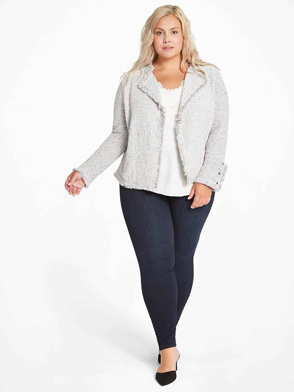 Nic and Zoe, one of Next Level Wardrobe's recommended minimalist brands for plus size women