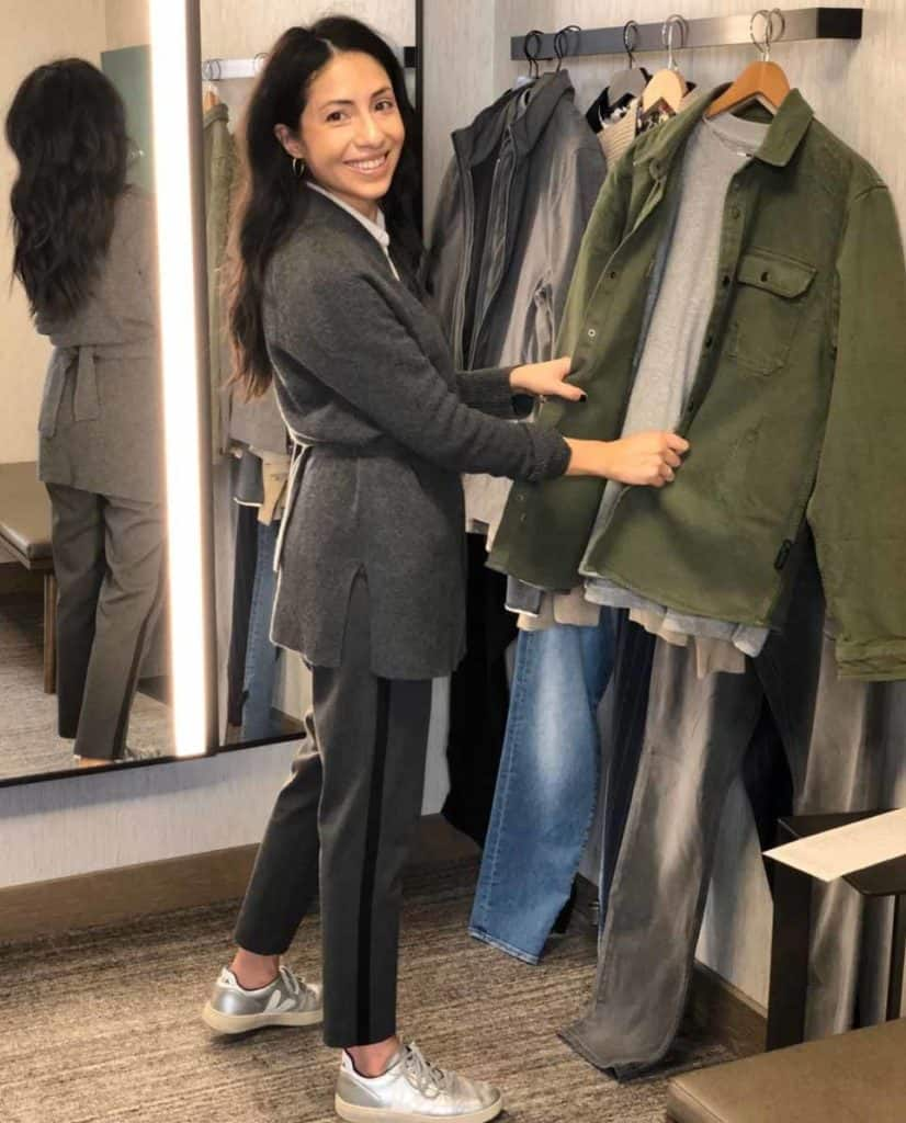 Image Consultant Cassandra Sethi Styling An Outfit