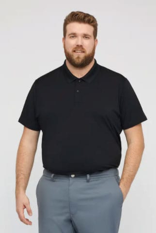 Man Modeling Bonobos The M Flex Golf Polo As A Business Casual Style Option For Men