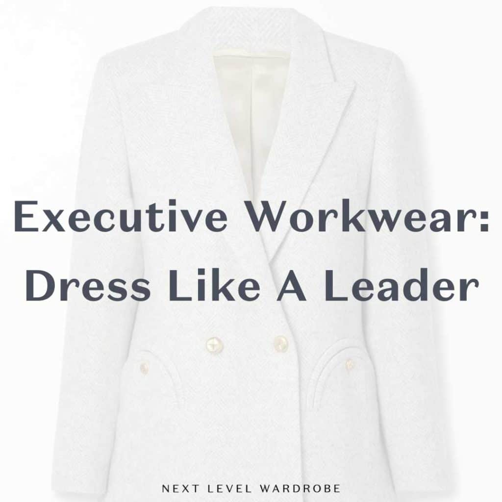Thumbnail For Executive Workwear Dress Like A Leader